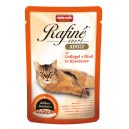 ANIMONDA Rafine Soupe drób, wołowina, sos 100g Cat