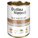 Dolina Noteci Senior z koniną 400g Dog