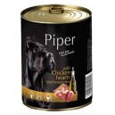 Dolina Noteci Piper z sercami z kurczaka 400 g Dog
