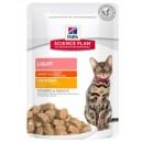 Hills Adult Light kurczak 85 g Feline