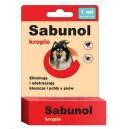 Sabunol - krople przeciw pchłom i kleszczom 1ml