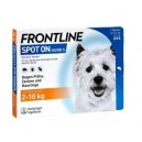 Frontline S dla psów 2-10 kg x 1 pipeta