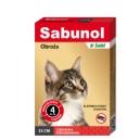 Sabunol Plus czerwona obroża dla kotów 35 cm
