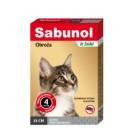 Sabunol Plus szara obroża dla kotów 35 cm