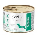 4Vets Natural Hepatic 185 g Dog