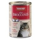ANIMONDA Cat Brocconis drób i serca 400 g