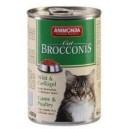 ANIMONDA Cat Brocconis dziczyzna i drób 400 g