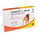 Controline XL dla psów  x 3 pipety po 402 mg