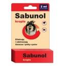 Sabunol - krople przeciw pchłom i kleszczom 2ml