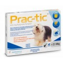 Prac-tic pies 22-50 kg 1 pipeta x 5,0 ml