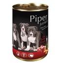Dolina Noteci Piper Junior z sercami wołowymi 400 g Dog