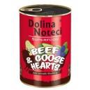 Dolina Noteci Superfood z wołowiną i sercami gęsi 400 g Dog