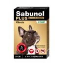 Sabunol Plus brązowa obroża 50 cm