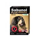 Sabunol Plus brązowa obroża 90 cm