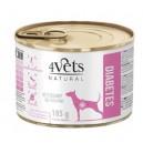 4Vets Natural Diabetes 185 g Dog